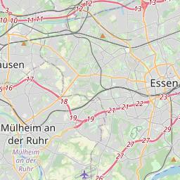 Karte Ruhrgebiet Städte.Luftreinhalteplan Umweltzone Stadt Mülheim An Der Ruhr
